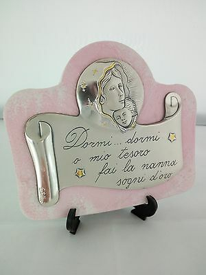 Icona per neonata Acca in argento 925 cod 311PG.5