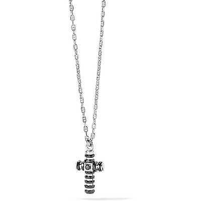 Collana Uomo Gioielli Comete Royal in argento 925 con croce UGL691