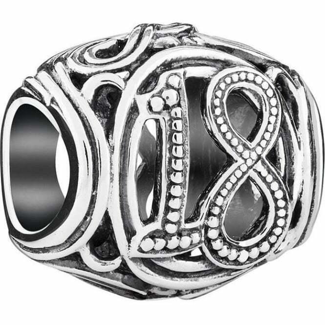 Chamilia Charm in argento 925 18° Diciottesimo 2010-3319