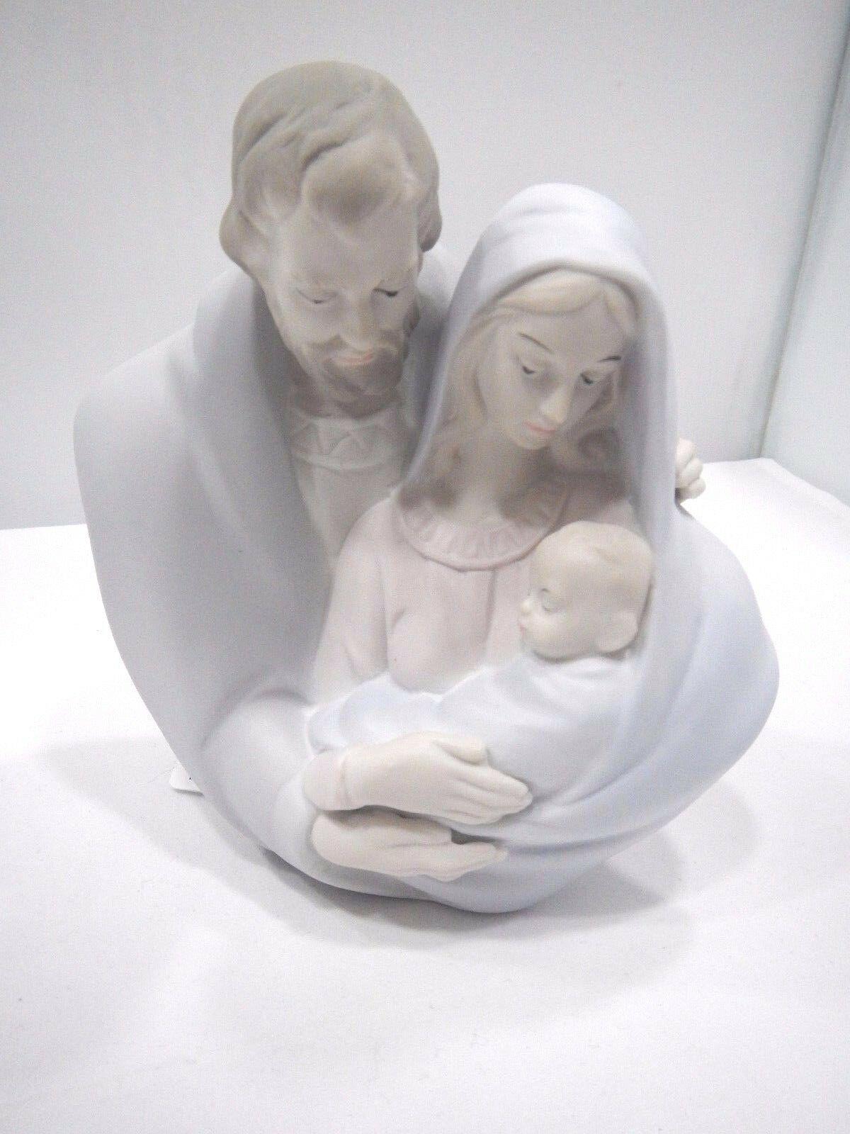 Sacra Famiglia in porcellana Morena D7631