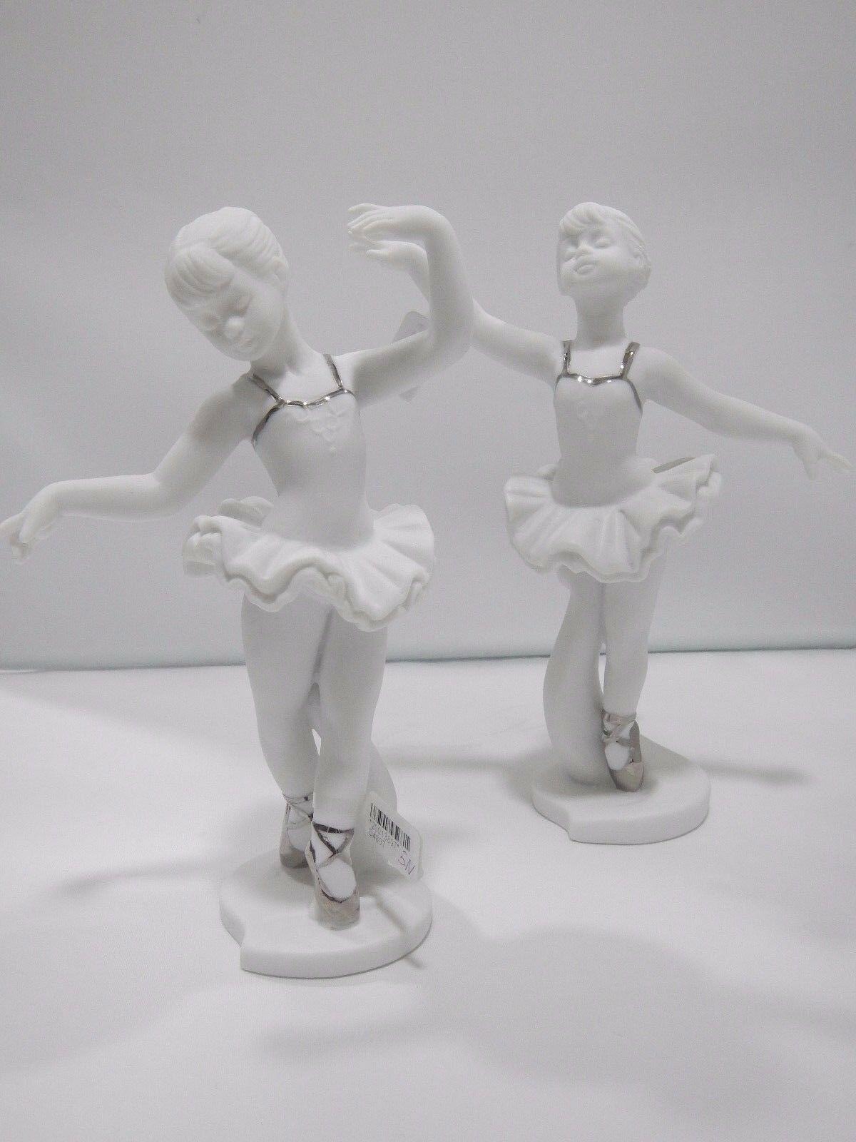 Scultura ballerina in porcellana Cuorematto D4805 D4806 D4807