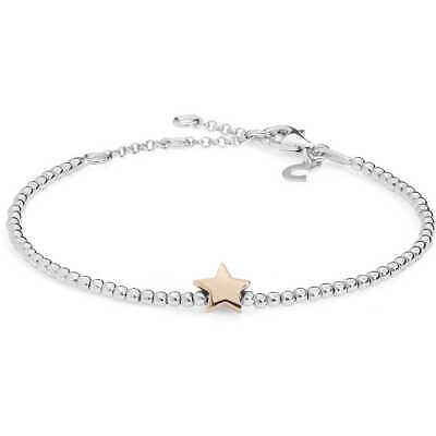 Bracciale donna Gioielli Comete stella in argento 925 BRA155