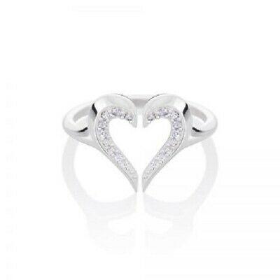 Chamilia Anello con cuore parzialmente regolabile in argento  925 1125-0632