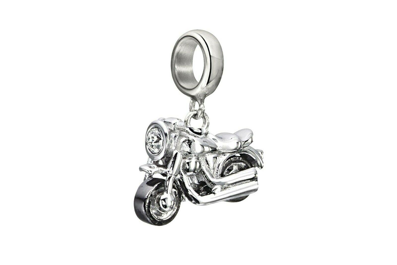Chamilia Charm in argento 925 Motocicletta 2025-1147