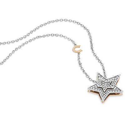 Collana donna girocollo Comete Gioielli Stelle in oro bianco GLB1446