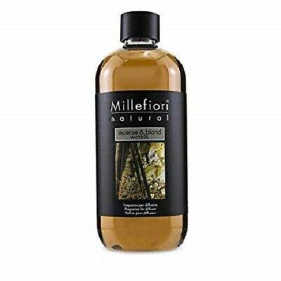 Millefiori Milano Ricarica per diffusore di fragranza 500 ml Incense and blond