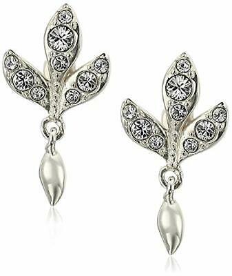 Chamilia Orecchini argento 925 Foglie con Swarovski bianchi 1311-0157