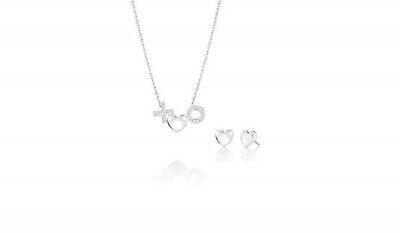 Chamilia  Completo collana con orecchini in argento 925 Con cuori 4016-0037