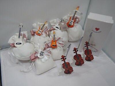 Kit Bomboniere Cuorematto con chitarre d5109 d5096 d5097 d5110 d5099 d5100 d5241