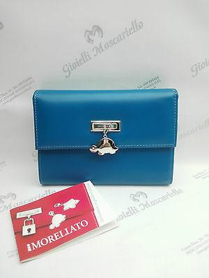 Portafoglio donna Morellato in pelle azzurro cod. PR02
