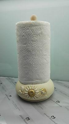 Portarotolo Shan in ceramica Collezione Girasoli cod.f197.13