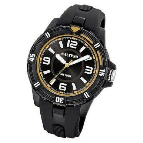 Orologio solo tempo uomo  Calypso con cinturino in gomma K5759/3
