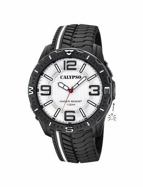 Orologio solo tempo uomo  Calypso con cinturino in gomma K5762/1 LISTINO 39