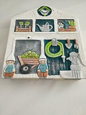 Portachiavi magnetico 3 posti Cartapietra da parete Pollice Verde 620141VE