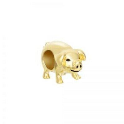Chamilia Charm Portafortuna Maialino Gold Piggy Bank Gold 2015-0147