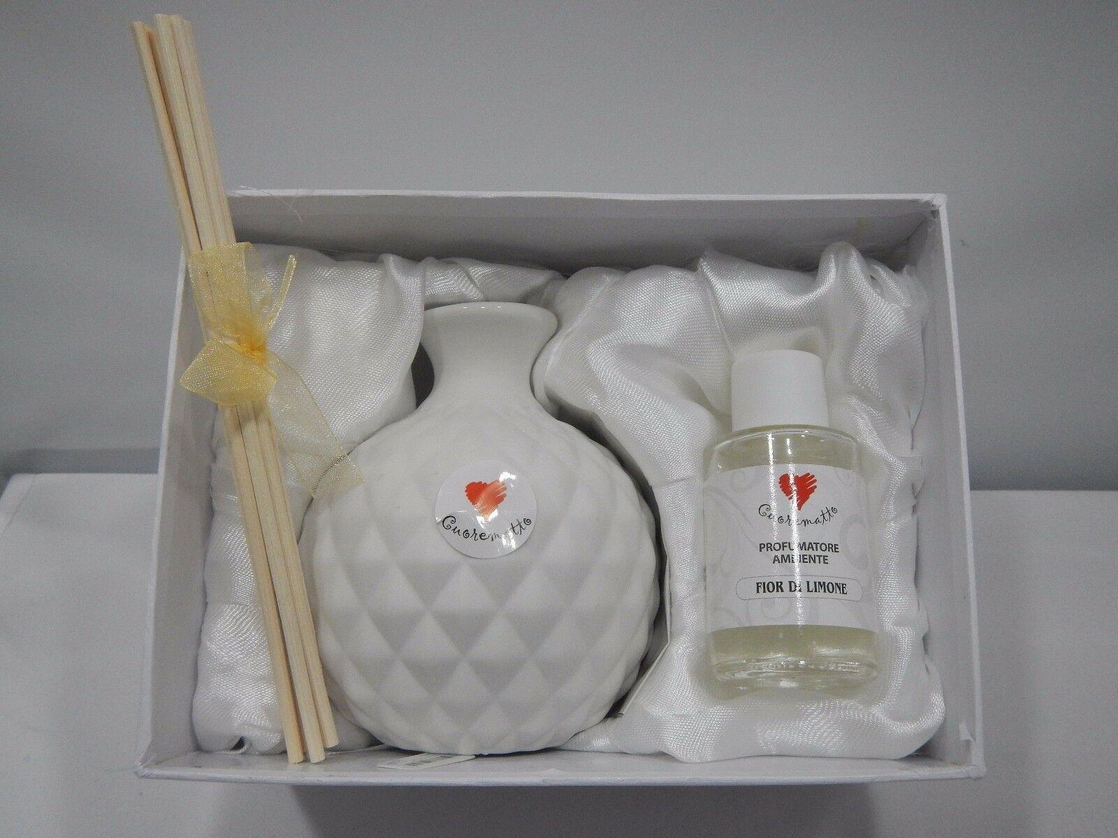 Profumatori Cuorematto in ceramica D5411 A B C D D5412 B C D