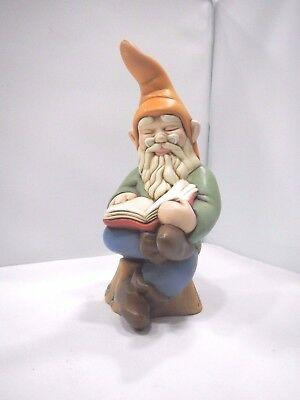 Scultura Gnomo in ceramica Shan cod. E038.0