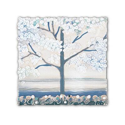 Cartapietra Quadro La Prima Luce Acqua 50 x 50 cm 1105107AQ