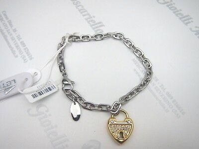 Bracciale donna in acciaio con pendente cuore Lotus LS1532-2/2