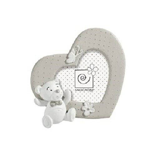 Cornice portafoto Mascagni cuore in resina  per foto 7x7 cm A517