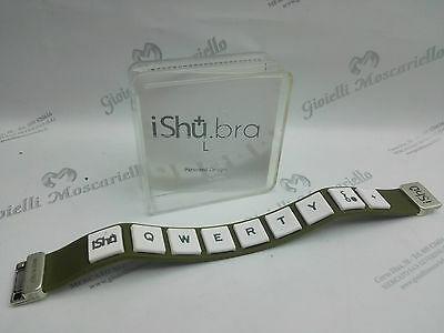 Bracciale Design Ishu.Bra Militare/Bianco Misura L