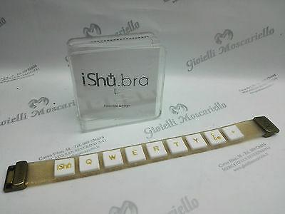 Bracciale Design Ishu.Bra Glitter/Bianco Misura L