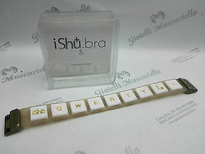 Bracciale Design Ishu.Bra Glitter/Bianco Misura S