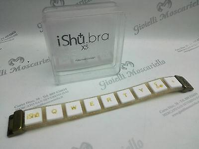 Bracciale Design Ishu.Bra Glitter/Bianco Misura XS