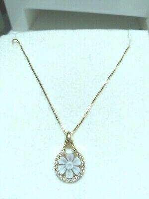 Collana in argento 925 con ciondolo Cameo Inciso a Mano e zirconi 05/20