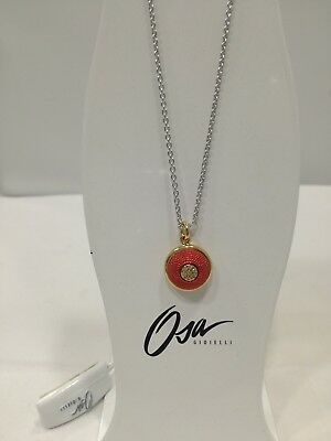Collana donna Osa cod. 9806  ciondolo rosso con strass