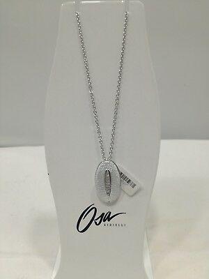 Collana donna Osa cod. 9803  ciondolo ovale con strass