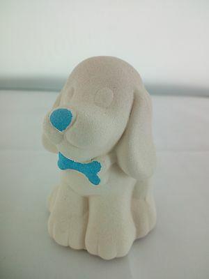 Cagnolino in porcellana Capodimonte Alexia Baby Celeste 8032/4c