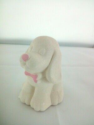 Cagnolino in porcellana Capodimonte Alexia Baby Rosa 8032