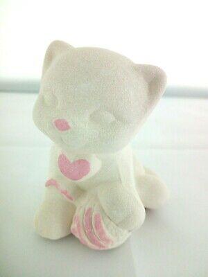 Gatto in porcellana Capodimonte Alexia Baby Rosa 8032/3r