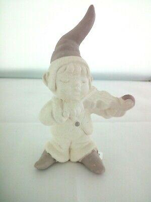 Gnomo in porcellana Capodimonte Alexia Baby 8033/2