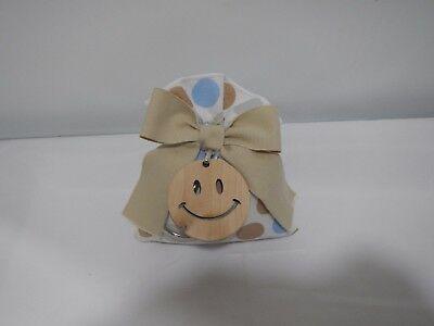 Kit 3 pezzi bomboniere Cuorematto Smile in legno cod D5393 D5392 D5394 D5391
