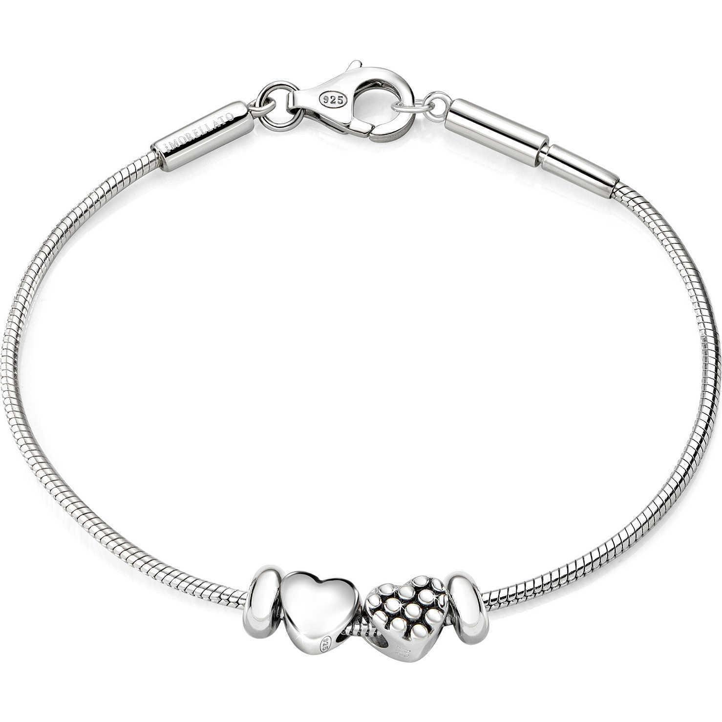 Bracciale  Donna in argento 925 Morellato con charm cuore SAFZ64