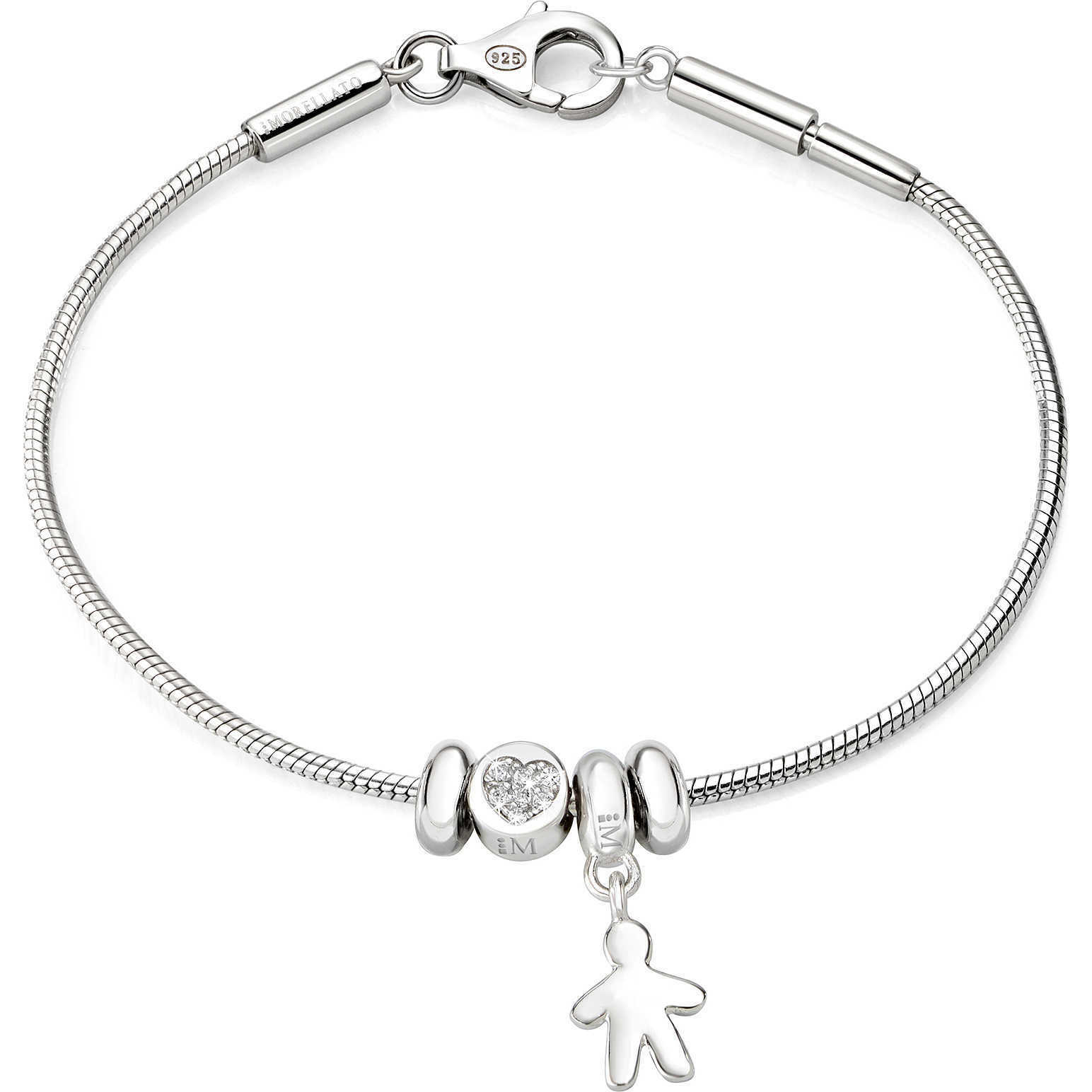 Bracciale Donna in argento 925 con charm bimbo Morellato SAFZ66