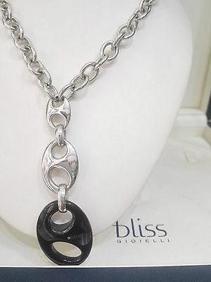 Collana Bliss acciaio con diamantino 20031321  20015299
