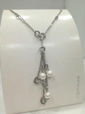 Collana donna Zoppini in acciaio e perle cod. Q1616_0094 LISTINO 75