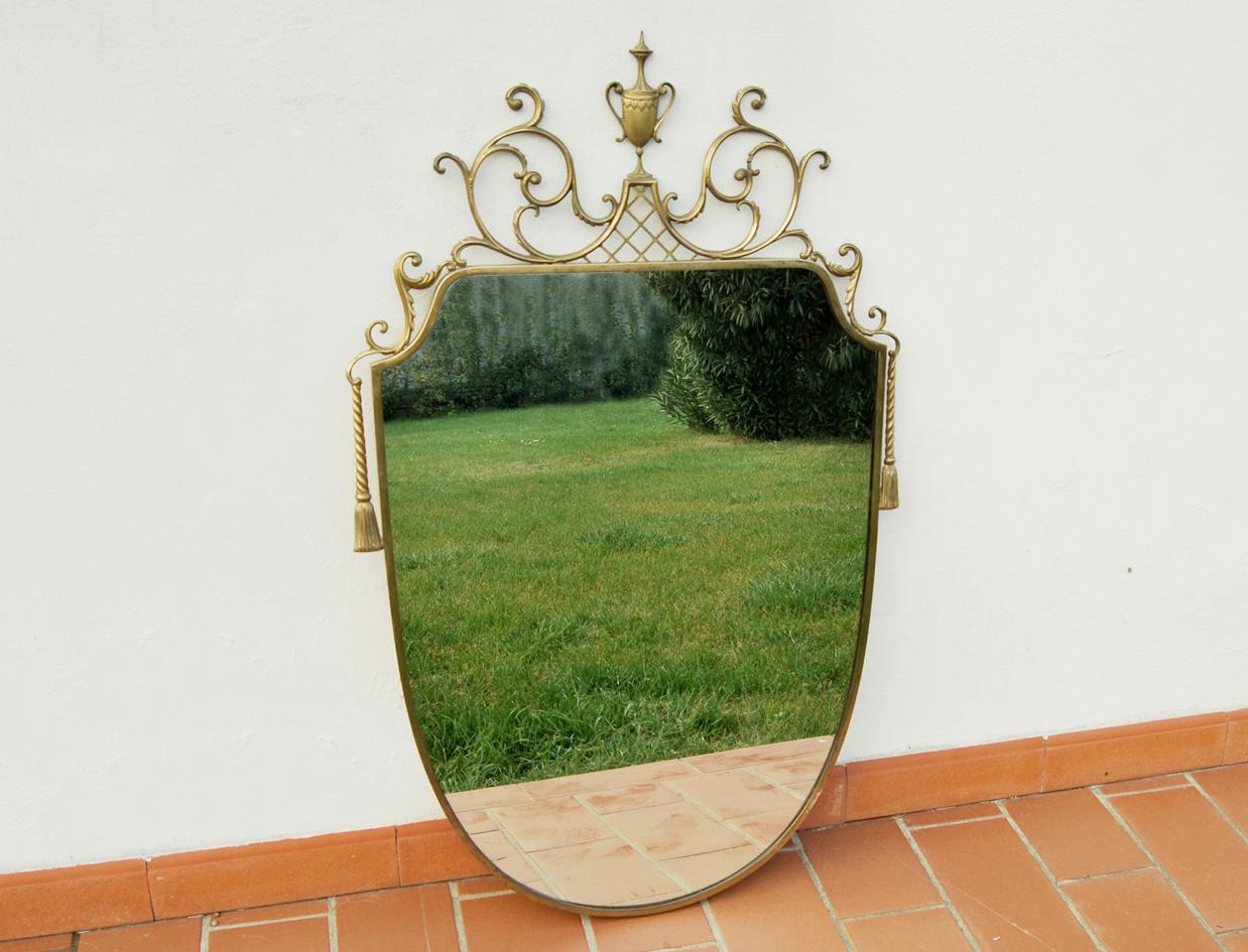 Specchio sagomato vintage