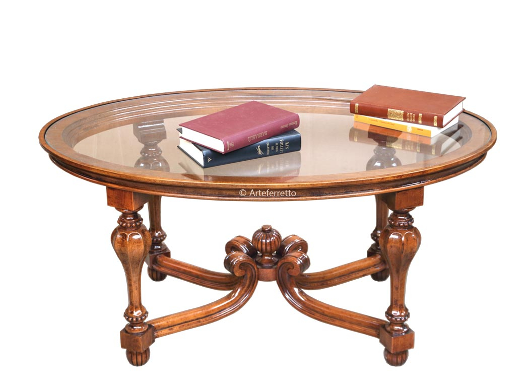 Tavolino ovale 'Classicking'