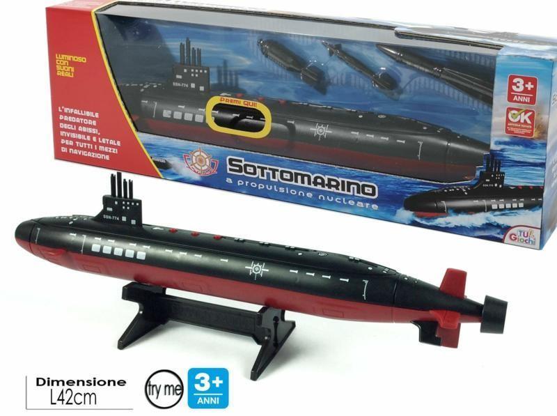 General Trade Sottomarino Try-Me Con Suoni Colori Giocattolo Per Bambini A Propulsione Nucleare