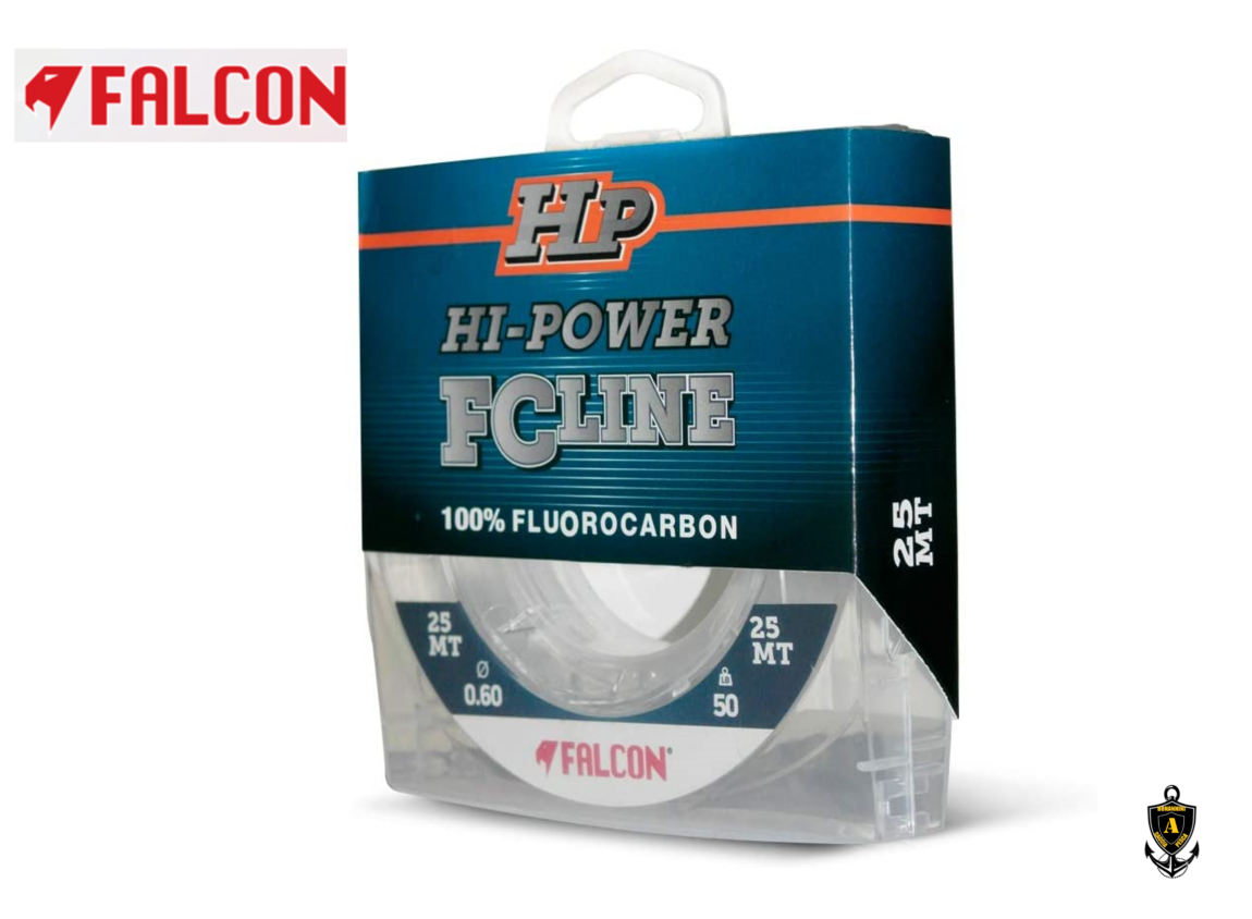 MONOFILO FALCON FLUOROCARBON HI-POWER FC LINE 25MT