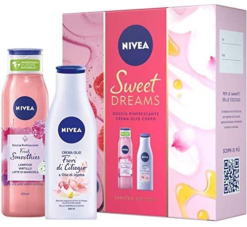 Cofanetto Nivea Sweet Dream Mirtillo e fiori di ciliegio