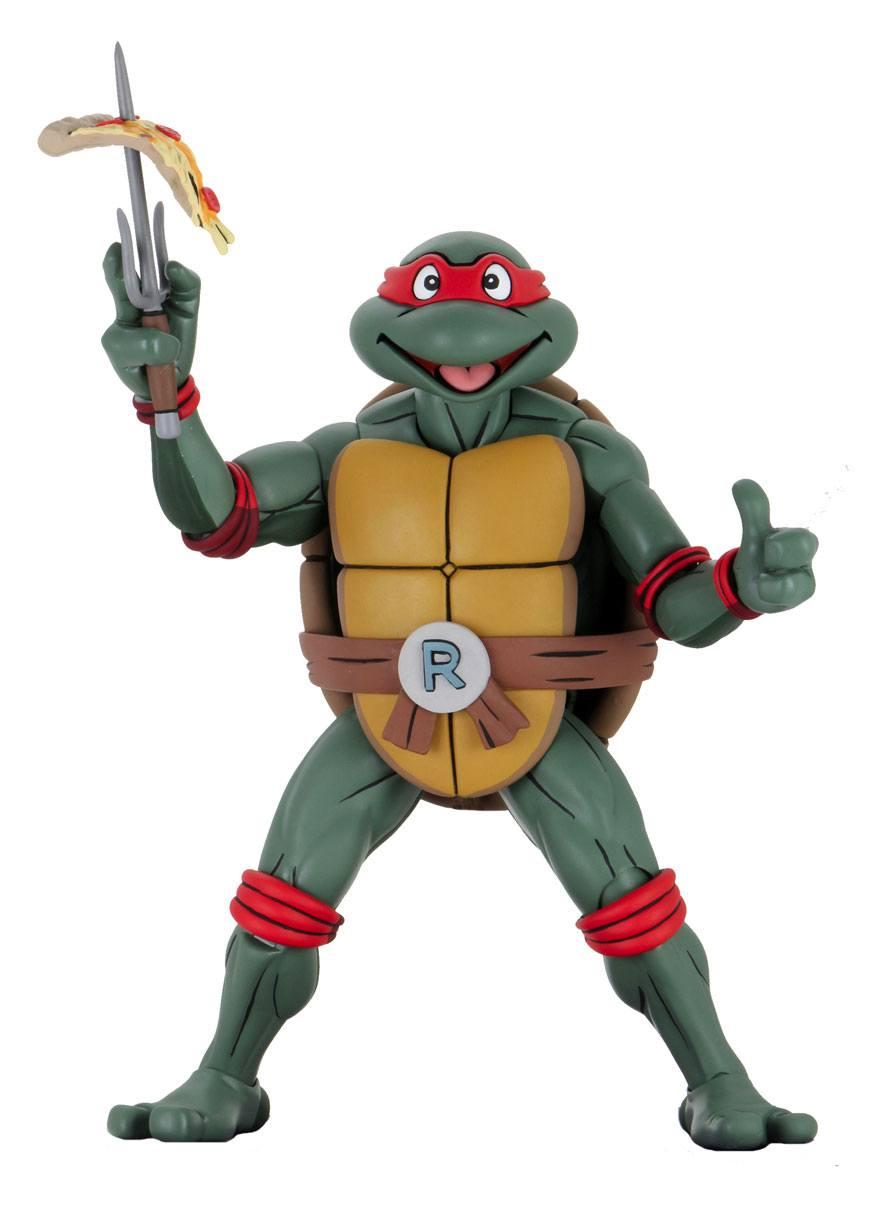 *PREORDER* Teenage Mutant Ninja Turtles Cartoon Action Figure 1/4: RAFFAELLO by Neca