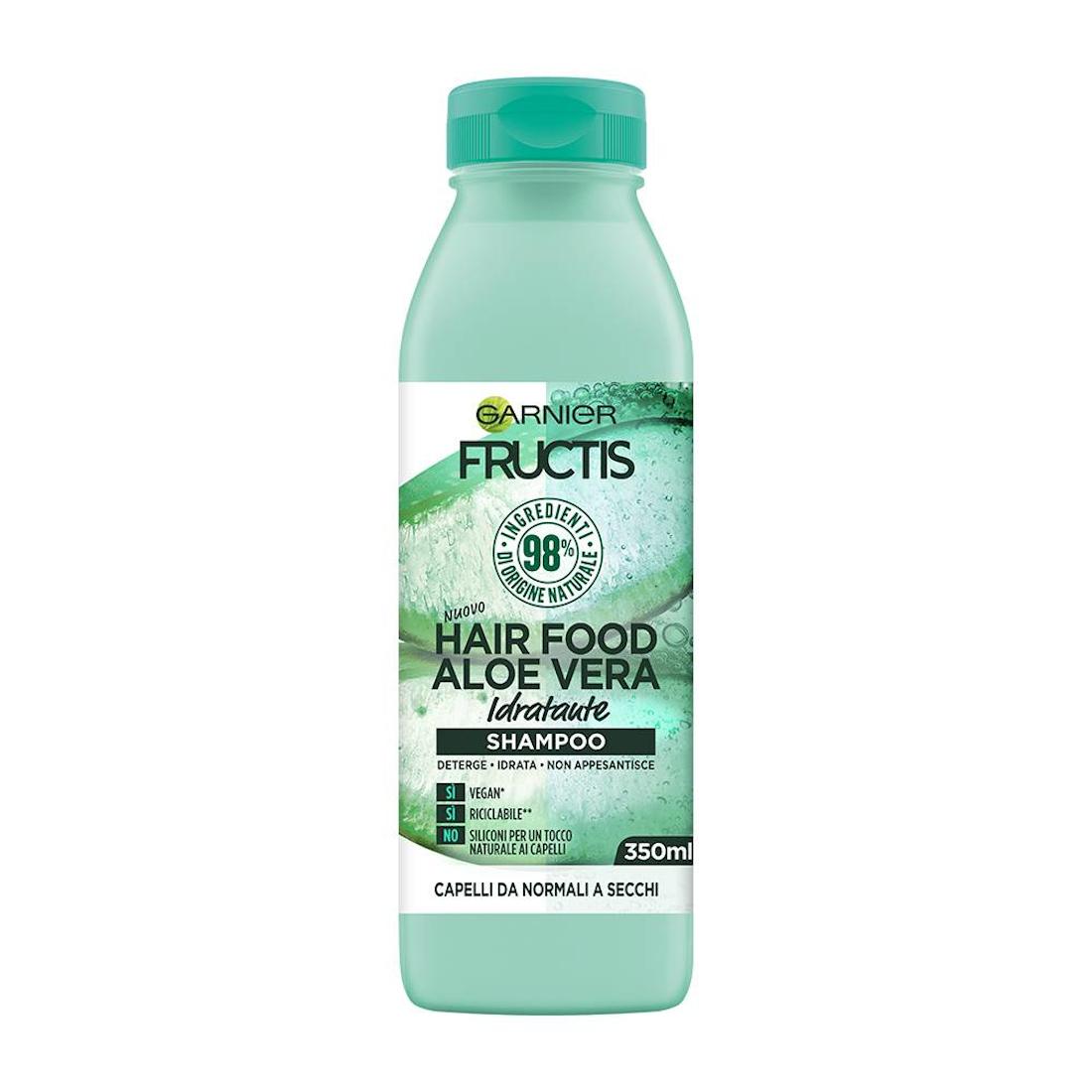 FRUCTIS Shampoo Hair Food Aloe Vera Idratante 350ml