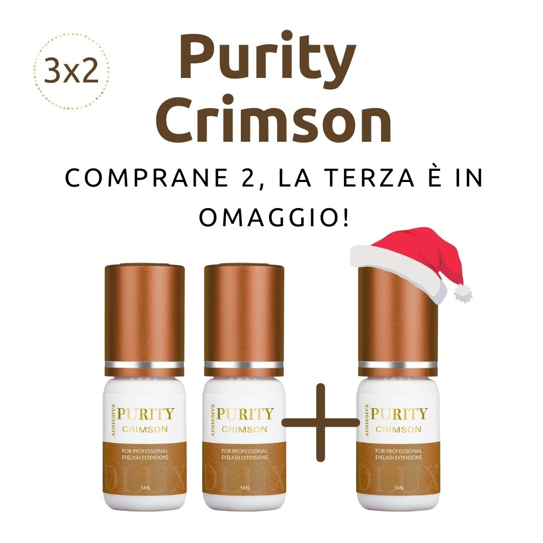 Colla Purity Crimson Promo 3X2