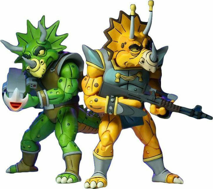 Teenage Mutant Ninja Turtles Action Figure: CAPTAIN ZARAX & ZORK by Neca