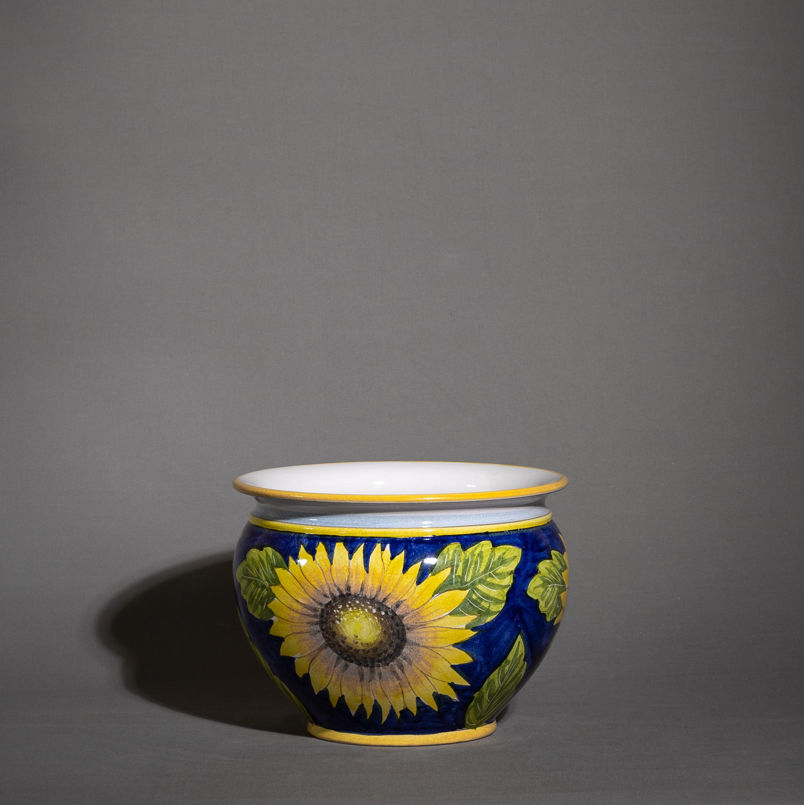 Porta vaso in ceramica